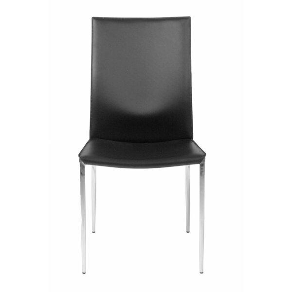 Deloach Upholstered Dining Chair (Set of 2) by Brayden Studio Brayden Studio