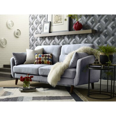 Elle Decor Chloe Mid-Century Modern Sofa