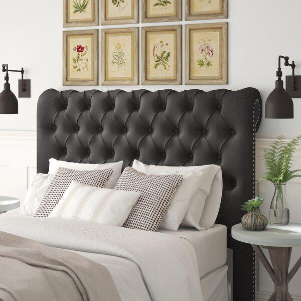 Agda Upholstered Sleigh Headboard by Birch Lane™ Heritage