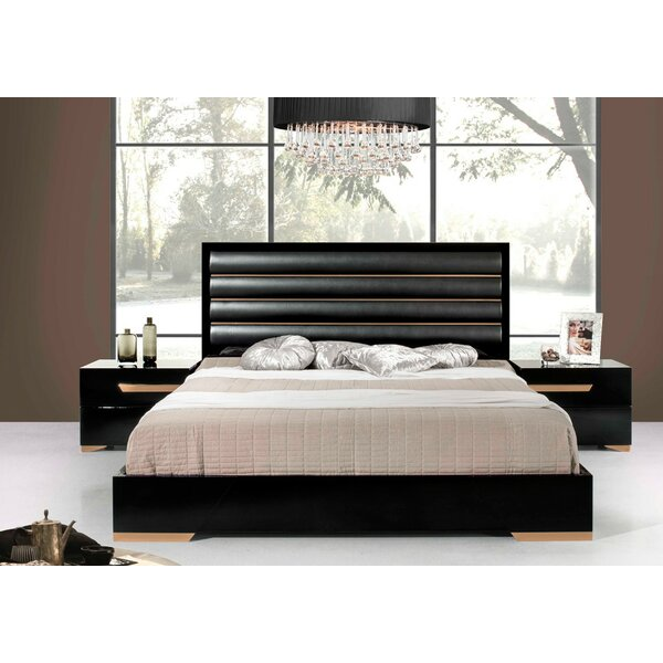 Ertha Upholstered Panel Bed by Willa Arlo Interiors