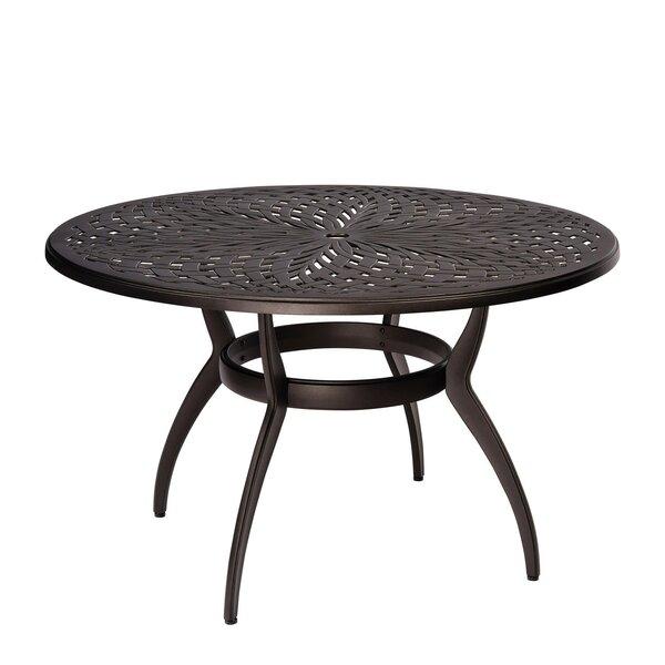Apollo Metal Dining Table By Woodard by Woodard Modern
