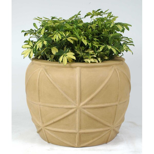 Key West Plastic Pot Planter by Allied Molded Products