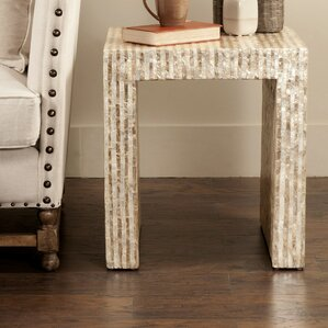 Pene Wood End Table by Bloomsb..