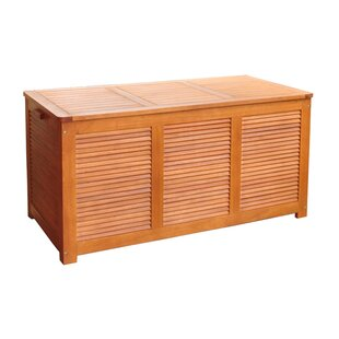 Outdoor Eucalyptus Deck Box