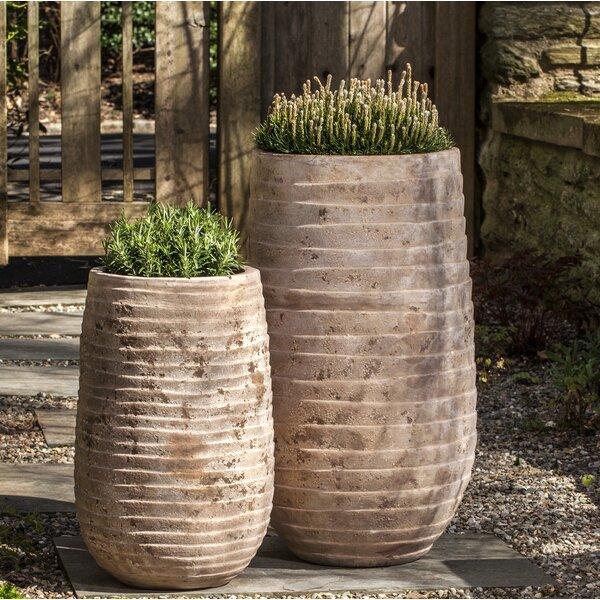 Brookover 2-Piece Terra Cotta Pot Planter Set by Bungalow Rose