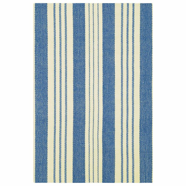 Hand Woven Blue Area Rug by Dash and Albert Rugs