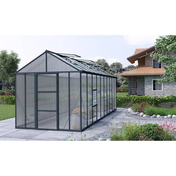 Glory 8 Ft. W x 20 Ft. D Greenhouse by Palram
