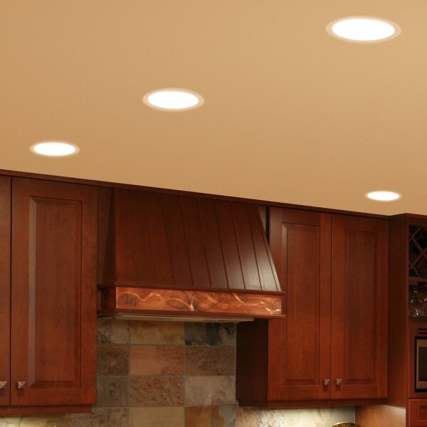 R30 Eyeball 6 Recessed Trim by NICOR Lighting