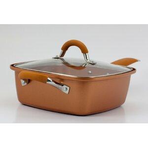 Square Copper Pan Pro 5 Piece Non-Stick Cookware Set