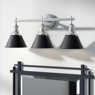 Deals Weatherford 3-Light Vanity Light ByTrent Austin Design