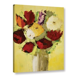 Lovely Bouquet Painting Print on Wrapped Canvas by Alcott Hill
