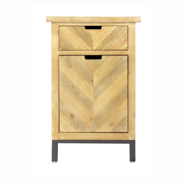 Review Marchese 1 Door Accent Cabinet