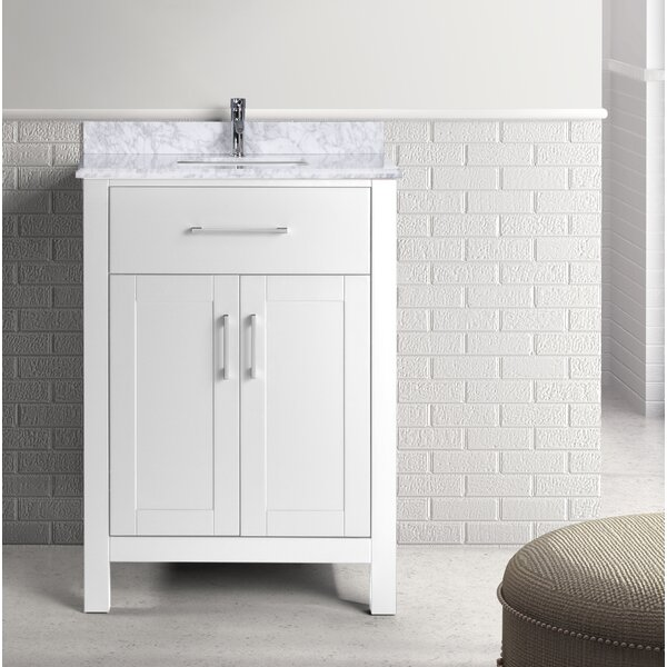 Prestwick 24 Single Bathroom Vanity Set by Breakwater Bay