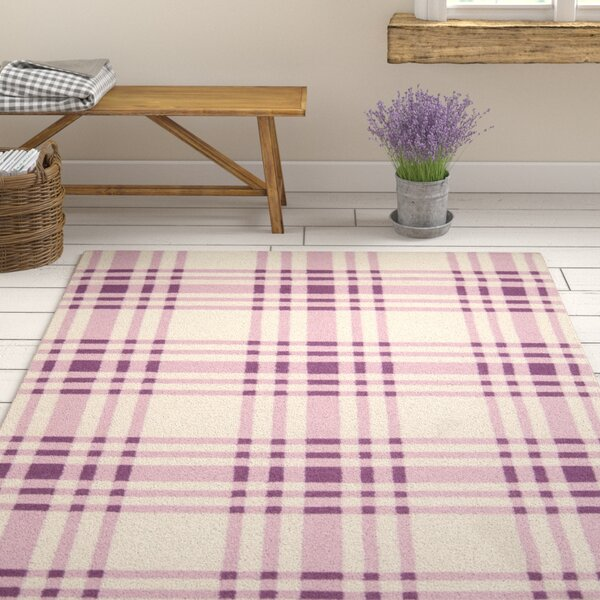 Jacob Pink Area Rug by August Grove