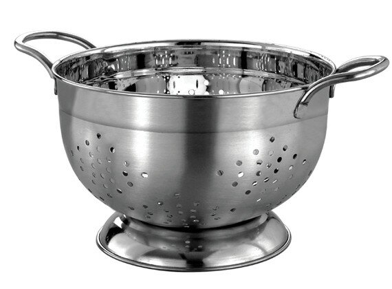 Gourmet Chef Professional Stainless Steel German Colander By Gourmet Chef.