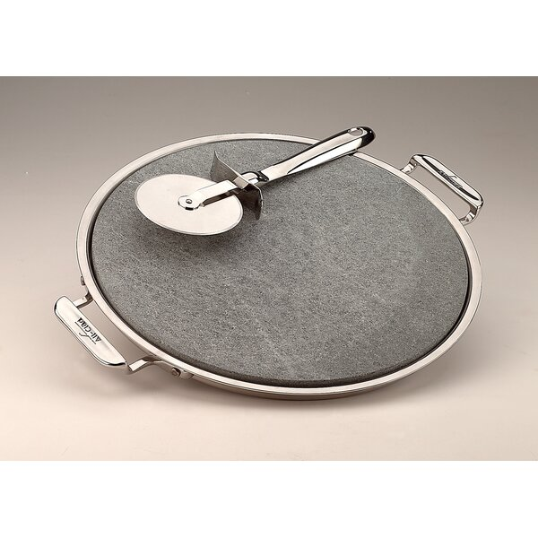 13 Pizza Baker with Serving Tray and Pizza Cutter by All-Clad