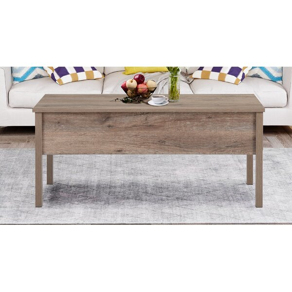 Freddi Lift Top Coffee Table With Storage By Union Rustic
