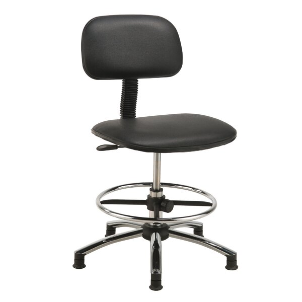 Low-Back Drafting Chair by Nexel