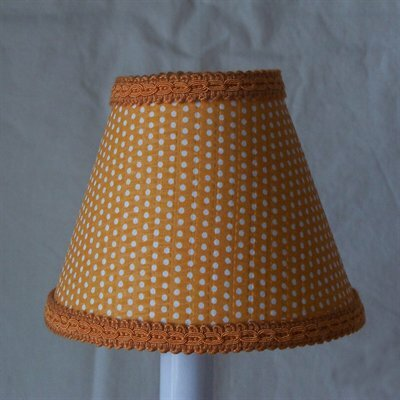 Crush 11 Fabric Empire Lamp Shade by Silly Bear Lighting
