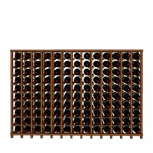 Lurmont Series 130 Bottle Floor Wine Bottle Rack by Rebrilliant Rebrilliant