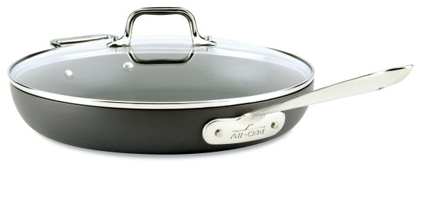 HA1 12 Non-Stick Frying Pan with Lid by All-Clad
