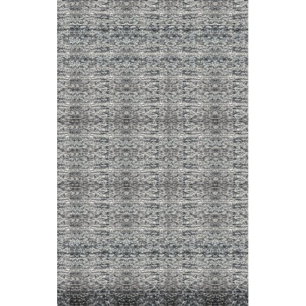 Cadwell Light Gray Area Rug by Bungalow Rose