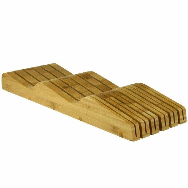 Organic Bamboo Knife Block Organizer by Heim Concept
