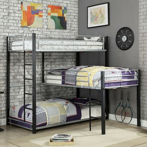 Fielding Twin over Twin Triple Bed by Harriet Bee