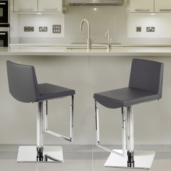 Adjustable Height Swivel Bar Stool by Stilnovo Stilnovo