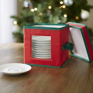 Wayfair Basics Holiday Saucer Storage Chest