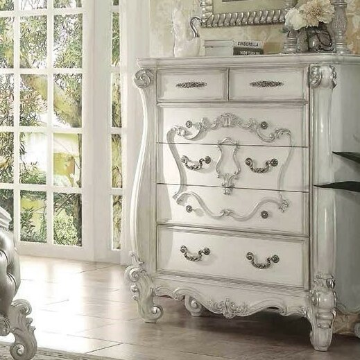 Queenies 6 Drawer Chest By A&J Homes Studio by A&J Homes Studio New