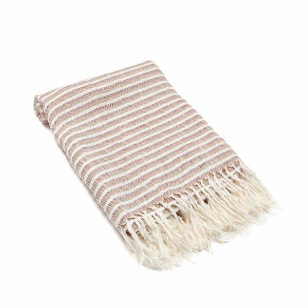 Arraignee Peshtemal Linen Beach Towel by Gracie Oaks