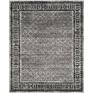 Norwell Ivory / Silver Area Rug