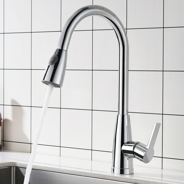 Pull Down Single Handle Kitchen Faucet by Maincraft Maincraft