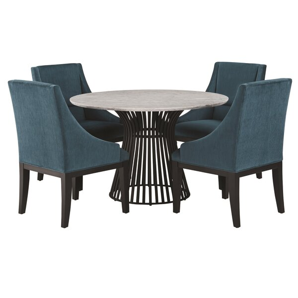 Dungannon 5 Piece Pub Table Set by Brayden Studio