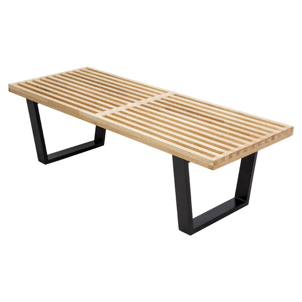 Haefner Wood Bench By Union Rustic
