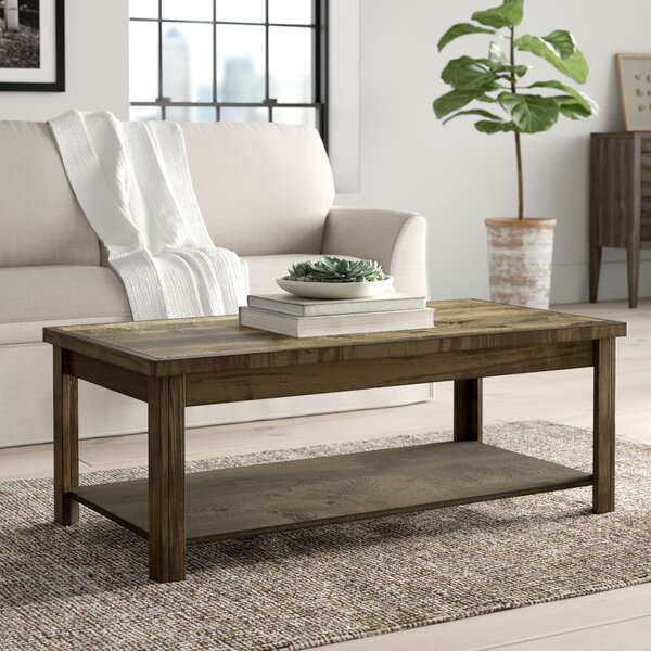Columbia Coffee Table With Storage By Greyleigh