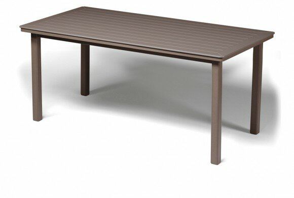 Marine Grade Polymer Rectangular Bar Table by Telescope Casual