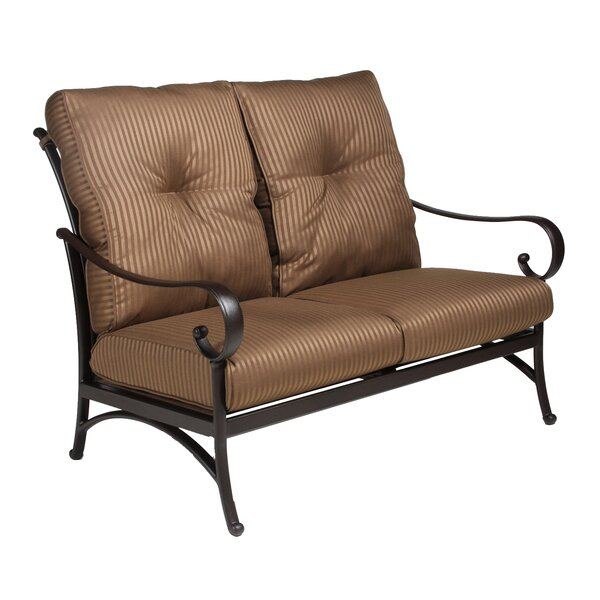 Borland Loveseat with Cushion by Darby Home Co