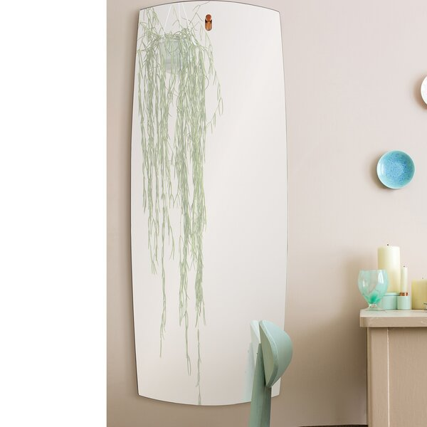 Neve Unframed Rectangular Full Length Wall Mirror by Ren-Wil