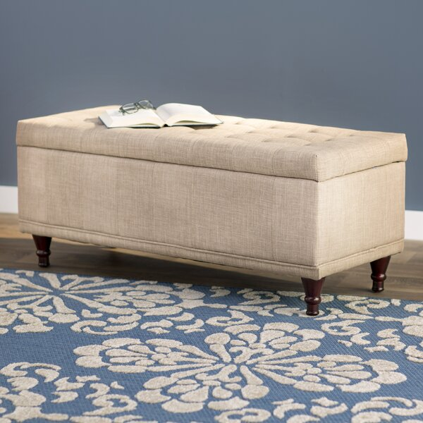 Southampton Upholstered Storage Bench by Three Posts Three Posts