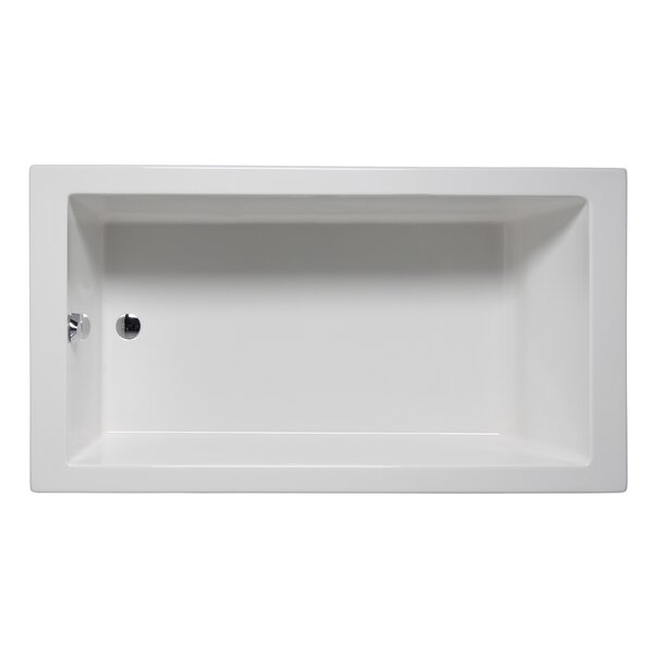 Wright 72 x 32 Drop in Soaker Bathtub by Americh