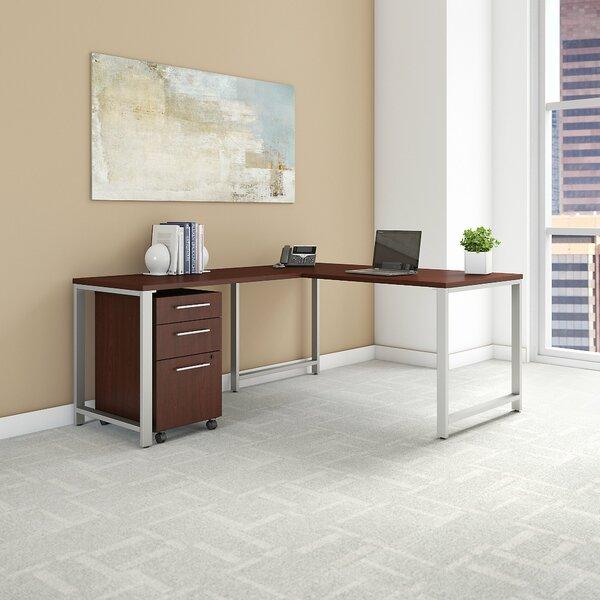 400 Series 3 Piece L-shaped Desk Office Suite by Bush Business Furniture
