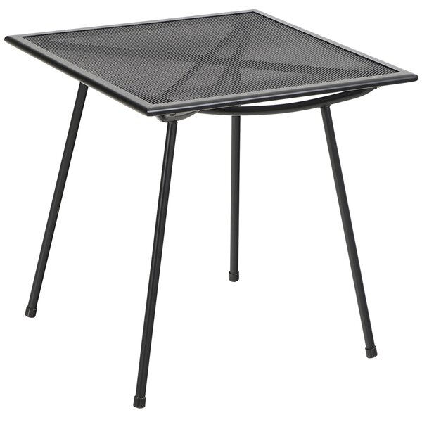 Emest Steel Dining Table by Latitude Run