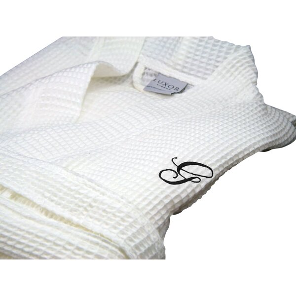 Giovanni Spa Egyptian-Quality Cotton Bathrobe by Luxor Linens