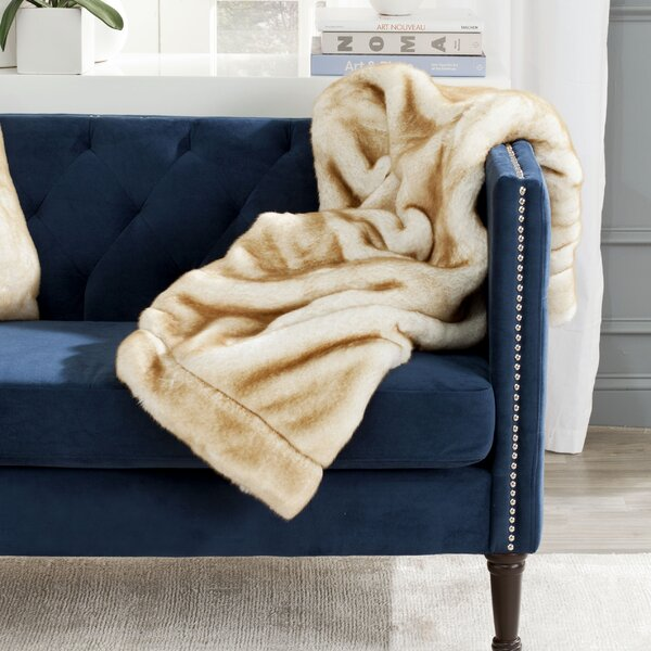 Avian Faux Fur Throw by Willa Arlo Interiors