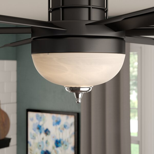 3-Light Bowl Ceiling Fan Light Kit by Three Posts