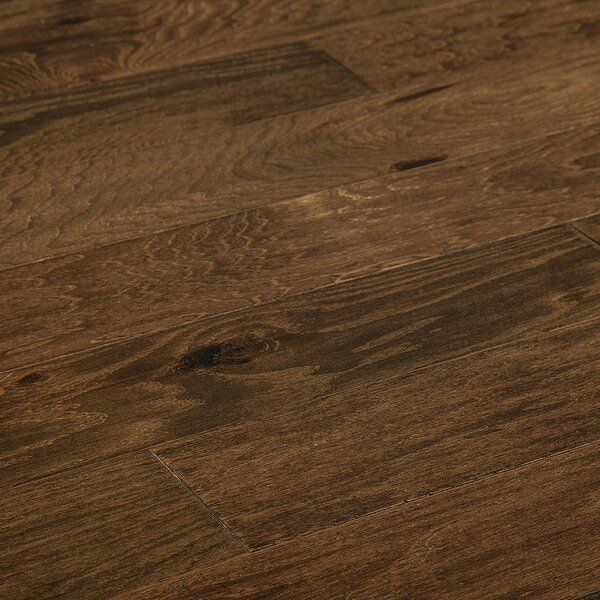 5 Myra Engineered Hickory Hardwood Flooring in Brown by Welles Hardwood