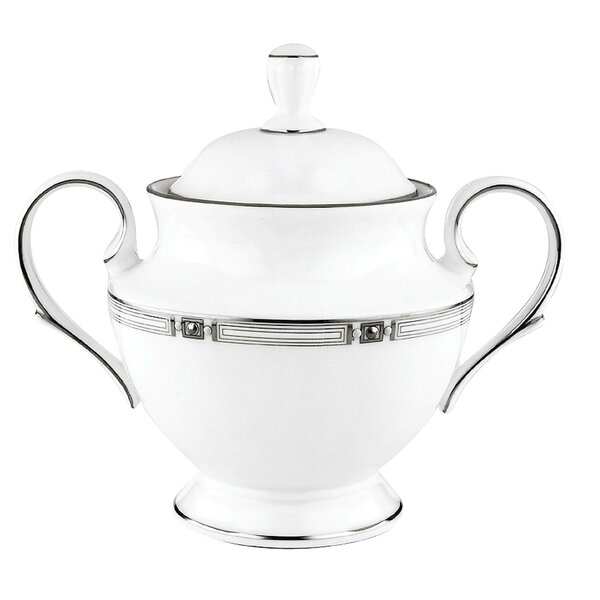Westerly Platinum Sugar Bowl by Lenox
