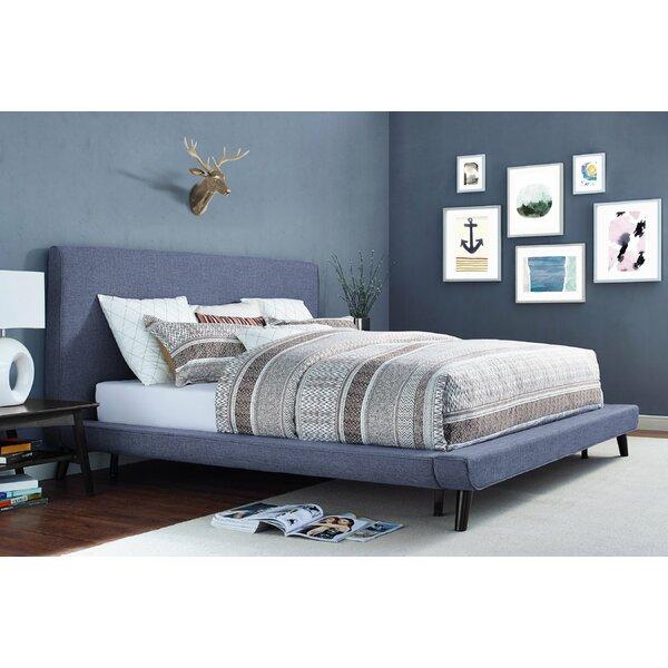 Agatha Upholstered Platform Bed by Brayden Studio